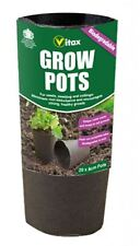 VITAX GROW POTS FOR SEED SEEDLINGS & CUTTINGS PACK OF 16 - 8CM