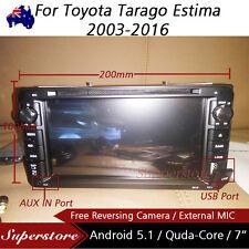 "7"" Android Quad Core Car DVD GPS For Toyota Tarago Estima 2003-2016"