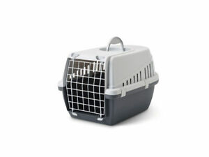 Trotter Pet Carrier, Light Grey-Anthracite Transport travel box for Dogs & Cats