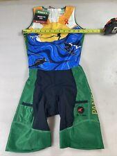 Pactimo womens ascent tri triathlon suit Small S (7685-2)