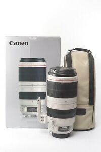 Canon EF 100-400mm F/4.5-5.6 L IS II USM Lens - Boxed with Front and Rear Caps