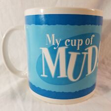 My Cup of Mud Pig Blue Coffee Mug Tea Cup 20 oz Oversized Yak Pack