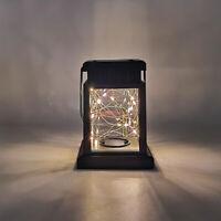 LED Solar Powered Hanging Lantern Lights Outdoor Garden Table Lamp