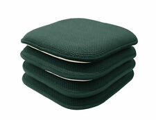 4 Pack: Non Slip Honeycomb Premium Memory Foam Chair Cushions - Assorted Colors