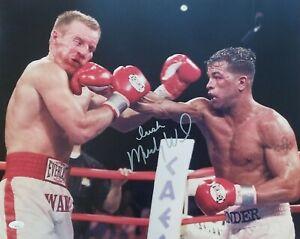Irish Micky Ward signed 16x20 photo vs Arturo Gatti 3 Legendary Wars  JSA coa