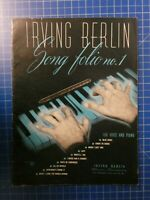 Irving Berlin Song folio no.1 New York H10247