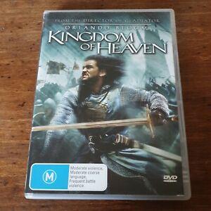 Kingdom of Heaven DVD R4 Like New! FREE POST