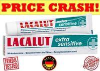 LACALUT EXTRA SENSITIVE Teeth Medical Toothpaste Dentin hypersensitivity, 75ML