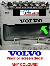 Volvo decal visor or windscreen vinyl cut graphic truck sticker FH FL FM FMX