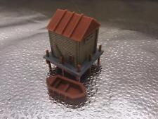 Train Railway Scenery Boathouse & boat z scale miniatures model