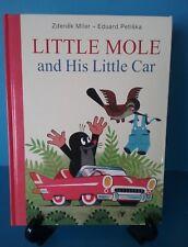 Little Mole and His Little Car Vintage Storybook Hardbound By Zdenek Miler