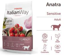 GIUNTINI ITALIAN WAY ALIMENTO ANIMALI CROCCANTINI GATTO GATTI 1,5KG ANATRA SENS