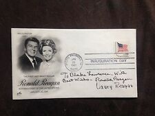 RONALD REAGAN NANCY FDC SIGNED    GUARANTEED AUTHENTIC