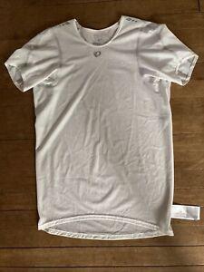 Pearl Izumi PRO Men's Transfer Short Sleeve Base Layer White Large