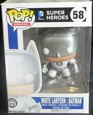 Funko POP! DC Comics Heroes WHITE LANTERN : BATMAN #58 Vinyl Figure NIB