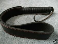 NEW LOOPED SLAPPER TAWSE with Tightly Wrapped HANDLE - HORSE TRAINING TOOL