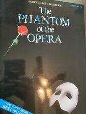 Phantom of the Opera Sheet Music Piano Solo Selections Book New 000292005