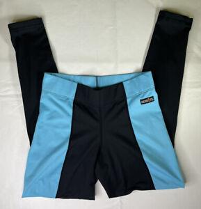 Women's Kerrits Equestrian Riding Breeches Pants Size Small Black / Blue