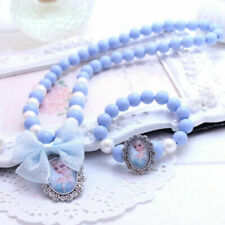 Christmas Gift Colorful Jewelry Girls Princess Beads Necklace Baby Kids Toddlers