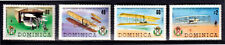 Dominica 1978 75th Anniv Of The First Powered Flight - Complete Set - MUH