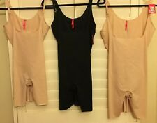 eafbf9c737d21 NEW SPANX TRUST YOUR THINSTINCTS MID THIGH OPEN BUST BODYSUITS  10021R or  10021P