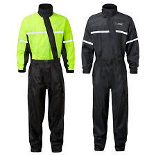 JDC Motorcycle Motorbike Waterproof Rain Over Suit Hi Vis Rainsuit 1PC - SHIELD