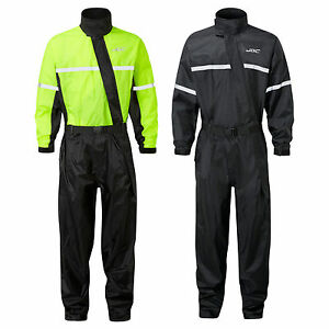 JDC Motorcycle Motorbike Waterproof Rain Over Suit Rainsuit 1PC SHIELD