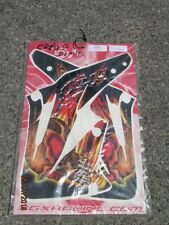 GRAPHICS  XGX FIRE SKULL TO SUIT HONDA CR125 1998-99 & CR250 97-99