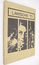 Lahiscan 1971 High School Yearbook Lakota North Dakota Brown Hardback Rare