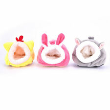 Pet Cage For Hamster Accessories Pet Bed Mouse Cotton House Animal Winter Wa J2