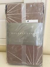 New BARBARA BARRY Luxury 100% Cotton STARBURST NICKEL 1x QUEEN SHAM NIP HOME