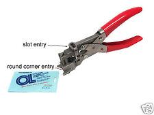 Badge Slot Punch & Corner Rounder (5mm radius) Punch ( New ) 2-in-1 Multitool