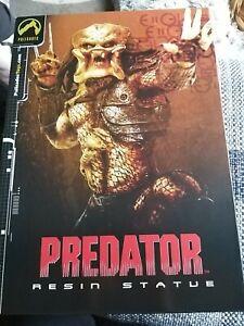 Palisades Predator Warrior Resin Statue 2002 VERY RARE MIB #1679/2000