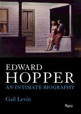 Edward Hopper : An Intimate Biography by Gail Levin (2007, Hardcover)