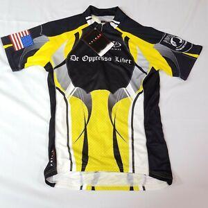 Primal Wear de oppresso liber POW Cycling Jersey Mens M Short bike bicycle Z10