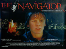 NAVIGATOR:  MEDIEVAL ODYSSEY 1988 Chris Haywood Vincent Ward UK QUAD POSTER