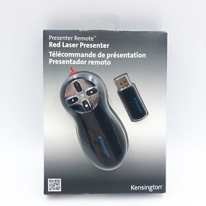 Kensington Wireless Control Presenter Red Laser Pointer Remote NIB New USB