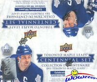 2017 Upper Deck Toronto Maple Leafs Centennial Hockey 24 Pack Retail Box-AUTO!