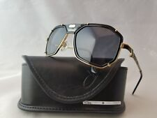 CAZAL VINTAGE MOD. 659 3 COL. 001 BLACK GOLD SUNGLASSES MADE IN GERMANY ccd146db71c0