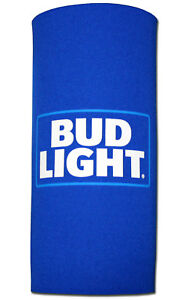 Bud Light (1) 24oz Beer Tallboy Koozie 25oz New Can Cooler Neoprene