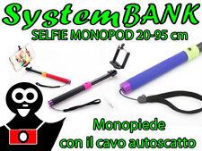 Bras Télescopique Monopode Perche à Selfie Stick pour IPHONE SAMSUNG LG HTC SONY