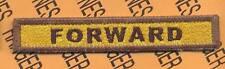 "510th Armored ""FORWARD"" TANK TAB patch"