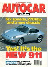 AUTOCAR & MOTOR  28 July 1993 - Road Test: Ford Modeo 2.0 GLX Estate