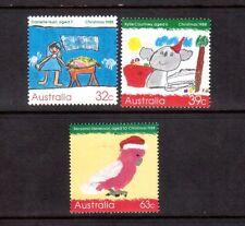AUSTRALIA 1988 Christmas set MUH