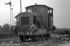 British Rail ruston 4W diesel in Warmsworth scrapyard 1969 Sth Yorks Rail Photo