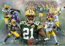 charles woodson : giclee print on canvas poster painting for autograph B-0188