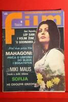 SOPHIA LOREN ON COVER VERY RARE EXYU MAGAZINE 1976