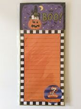 SNOOPY Halloween 60 PAGE Magnetic Notepad List, FREE SHIP