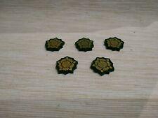 A Game of Thrones LCG 2.0 Acrylic House Tyrell tokens x5
