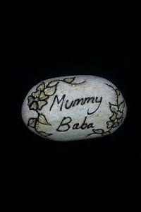Memorial Personalised Pebbles /stones Any Message Of Your Choice Mum,dad,names